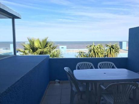 Manantiales Frente Al Mar, 3 Dorm, 3 BaÑos, Cochera, Patio Y Terraza
