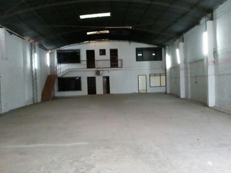 Bienes Raices Fenix Alquila Galpon Zona Norte Ideal Para Iglesia O Deposito