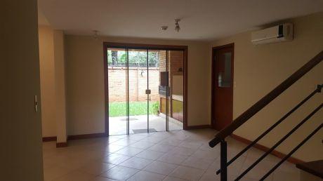 Alquilo Casa En Condominio Cerrado Sobre Primer Pte.