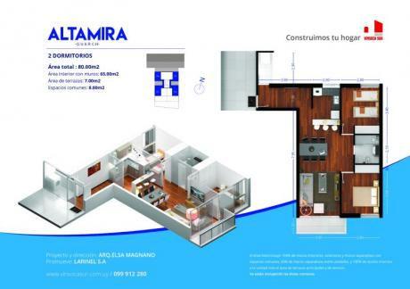 Proyecto Altamira Guarch | Oportunidad 2 Dormitorios