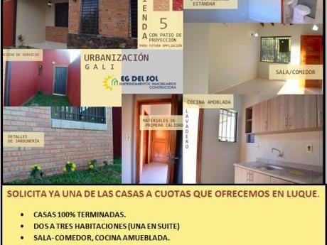 Ubanizacion Gali Casas A Cuotas.