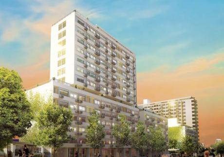 Monoambiente En E-tower Sky Nueva Etapa - Campiglia