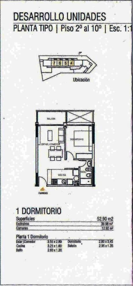 Estrene Apartamento 1 Dormitorios En P.batlle
