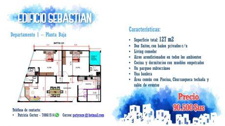 Departamento En Venta En 4to Anillo Zona Norte Santa Cruz De La Sierra