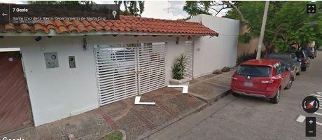 Hermosa Casa En Alquiler  Zona Equipetrol