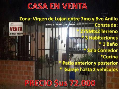 Virgen De Lujan Entre 7mo Y 8vo Anillo