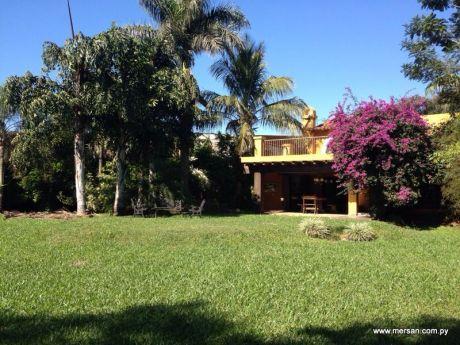 Vendo Espectacular Terreno/jardin Totalmente Amurallado De 5.311 M2 -(83)