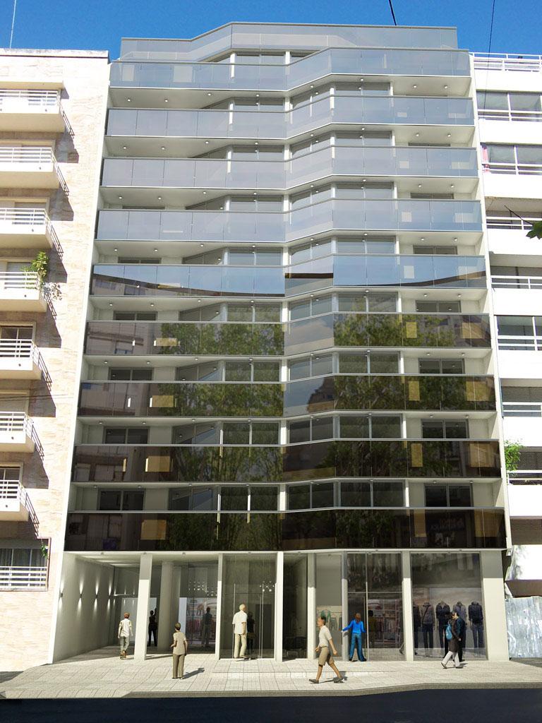 A metros del mar, edificio destacable por la claridad de su concepción