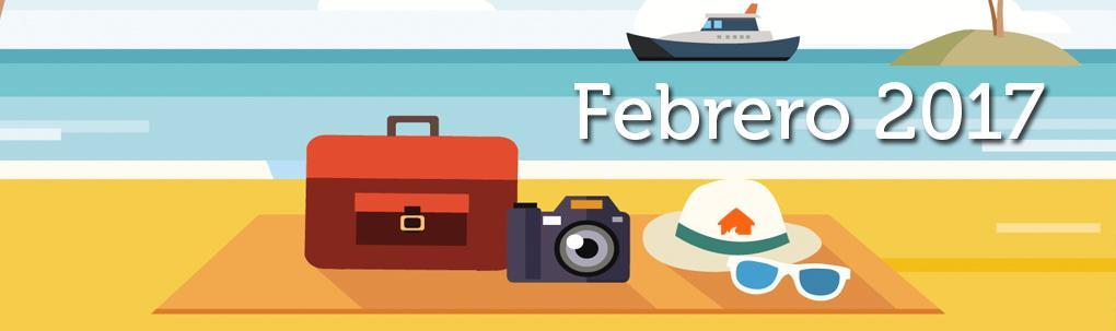 Eventos de Febrero en el Este