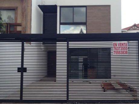 Casa A Estrena En Zona Avenida Alemana 2do Anillo