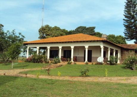 Estancia En El Departamento De San Pedro Ycuamandyyu, Itacurubi Del Rosario!!!