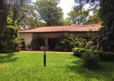 Casa Quinta HistÓrica En Loma Pyta, AsunciÓn!!!