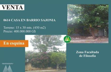 0614 Casa En AsunciÓn, Barrio Sajonia