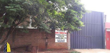 Tinglado En Venta Ciudad Nueva Km7