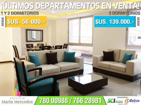 Dptos De 3 Dormitorios Desde $us. 139.000 A 3 Cuadras De La Av. Monseñor Rivero