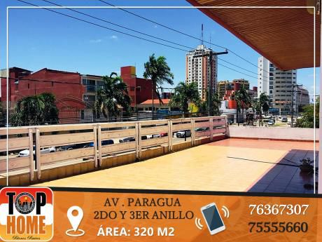 Dpto En Alquiler En Av Paragua