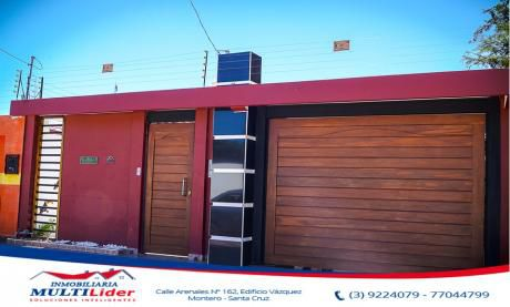 Bonita Casa En Venta Dentro Del Primer Anillo De Montero