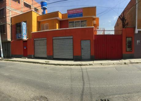 Hermosa Casa Amplia Y  Moderna En Venta A 7 Minutos Del Estadio Hernando Siles