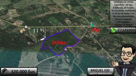 En Venta 29 Has En Peji, A 19 Km Carretera A Camiri