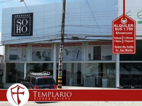 Hermosos Showroom Sobre 4to Anillo Entre Av. San Martin Y Canal Isuto