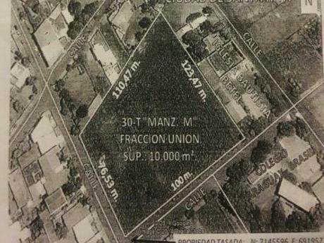 Vendo Terreno Centrico De 10.000 M2 En Santa Rita - Alto Parana