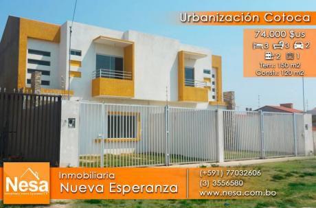 Nesa Vende Bonitas Casas A Estrenar En La UrbanizaciÓn Cotoca