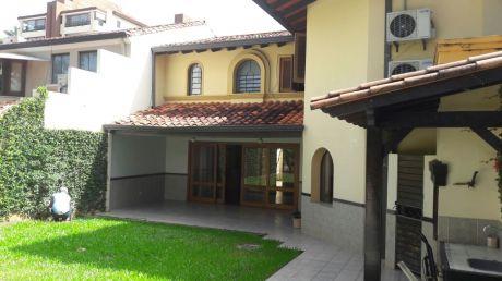 Alquilo Casa En Barrio Cerrado Zona Sacramento Y España
