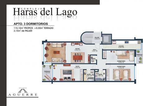 3 Dormitorios En Haras Del Lago