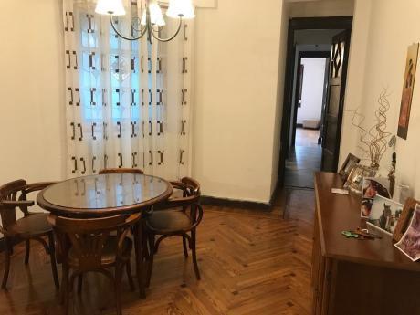 Apartamento De 3 Dormitorios En Cordón.