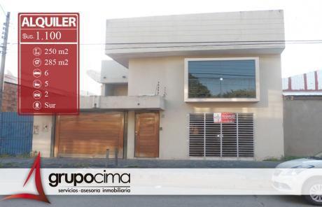 Amplia Casa En Alquiler A Solo 1.100 $us