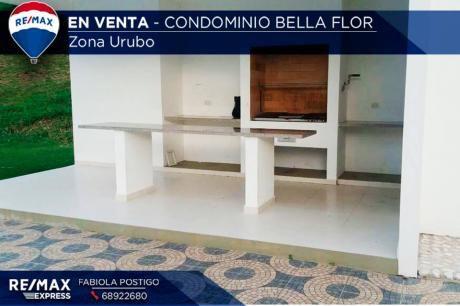 Terrreno En Condominio Bella Flor- Zona Urubo