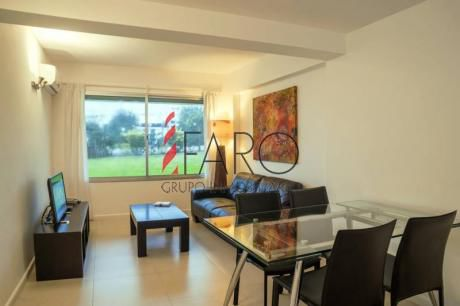 Apartamento En Montoya Sobre La Playa 2 Dormitorios Con Terraza - Ref: 33542
