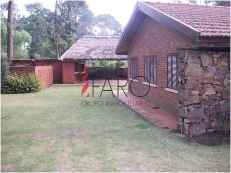 Casa En Marly 3 Dormitorios + Servicio, Parrillero - Ref: 34116