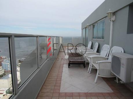 Penthouse En Península 2 Dormitorios Y Dependencia Con Parrillero Y Garage - Ref: 35929