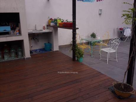 75540 - Venta Apartamento 2 Dormitorios Pocitos Con Patio Y Garaje