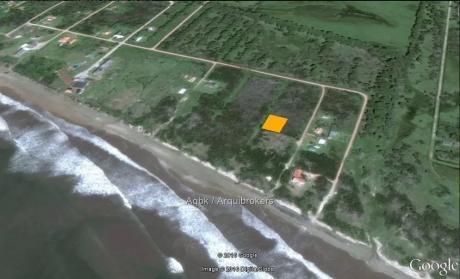 Terreno De 1100m2 En La Coronilla A 50 M2 Del Mar