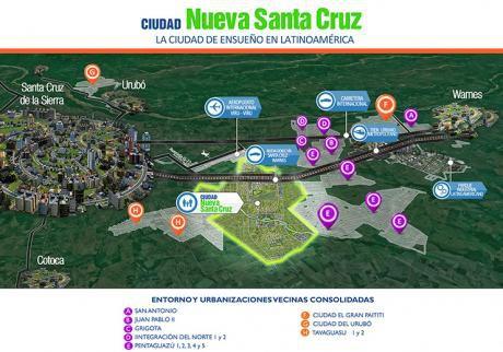 Ciudad Nueva Santa Cruz, Terreno En Venta