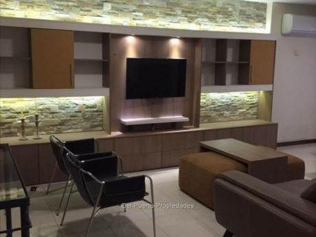 Alquilado Y Con Muebles De Revista Apartamento Rambla 2 Garages Cw62399