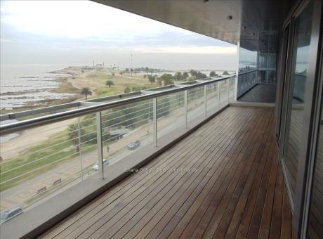 Alquiler Apartamento 3 Dormitorios  Rambla Punta Carretas