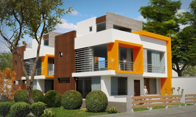 Hermosa casa minimalista detalles modernos y material de for Casa minimalista uy