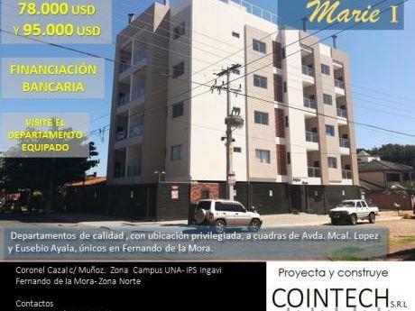 Edificio De Departamentos- Fernando De La Mora-zona Norte-  Zona Ingavi