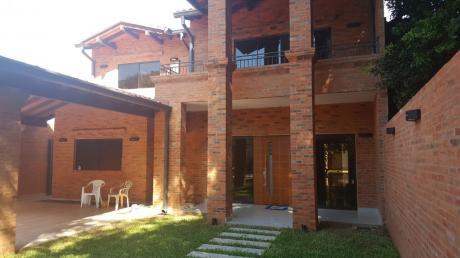 Vendo Espectacular Casa/ Mansión A Estrenar En Barrio Mburucuya