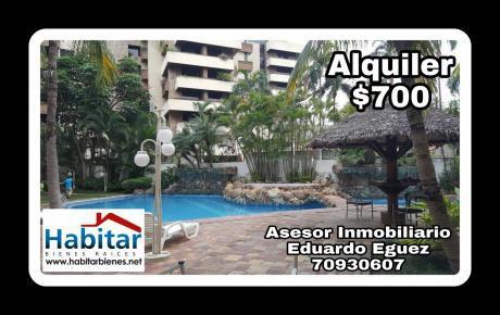 Departamento  1 Dormitorio Amoblado Equipetrol Hotel Yotau