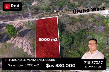 Terreno En El Urubo De 5.000 M2