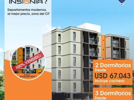 Edificio Insignia 2 - Dptos De 2 Y 3 Dormitorios - Zona Cita