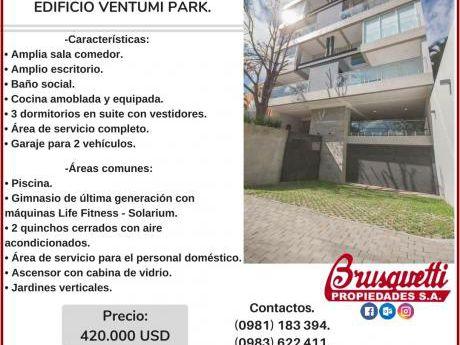 Vendo Lujoso Departamento Tipo Duplex. Edificio Ventumi Park.