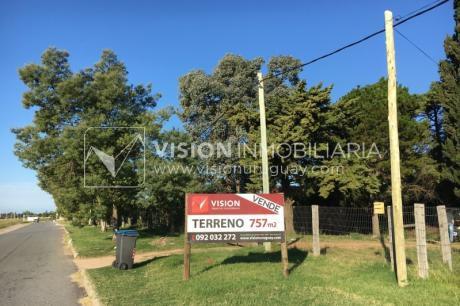 Mb Terreno Sobre Ruta Interbalnearia Km 24,500 & Av. Uruguay