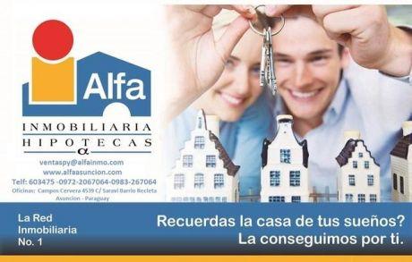 Alfa Inmobiliaria Vende Mansion En Villa Morra Construccion Semi Nueva