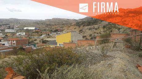 Terreno En Venta, Alto Auquisama
