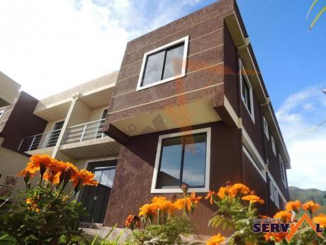 Vendo Hermosa Casa 2 Plantas Av. Circunvalación Km 6 A Sacaba